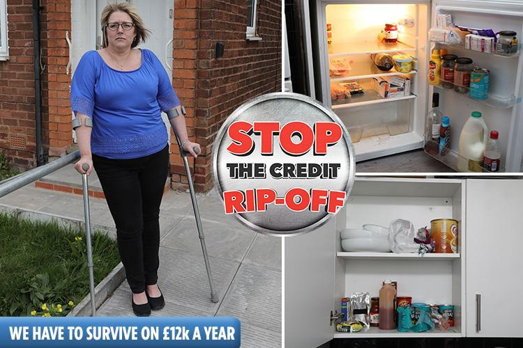 Mum-of-three feels trapped by £8,355 high-cost credit debt and poverty premium