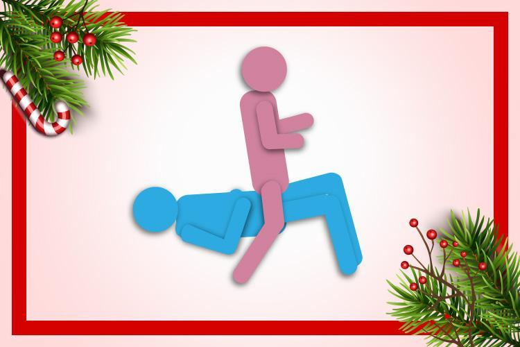 Sleigh Rider is the sex position to try on day 17 of our frisky festive countdown