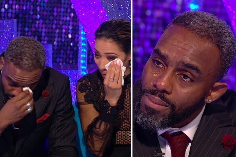 Strictly's Charles Venn breaks down in tears over shock exit as fans declare he was 'robbed' after losing to Ashley Roberts