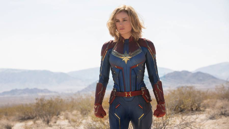 Watch: The New 'Captain Marvel' Trailer Is Out of This World
