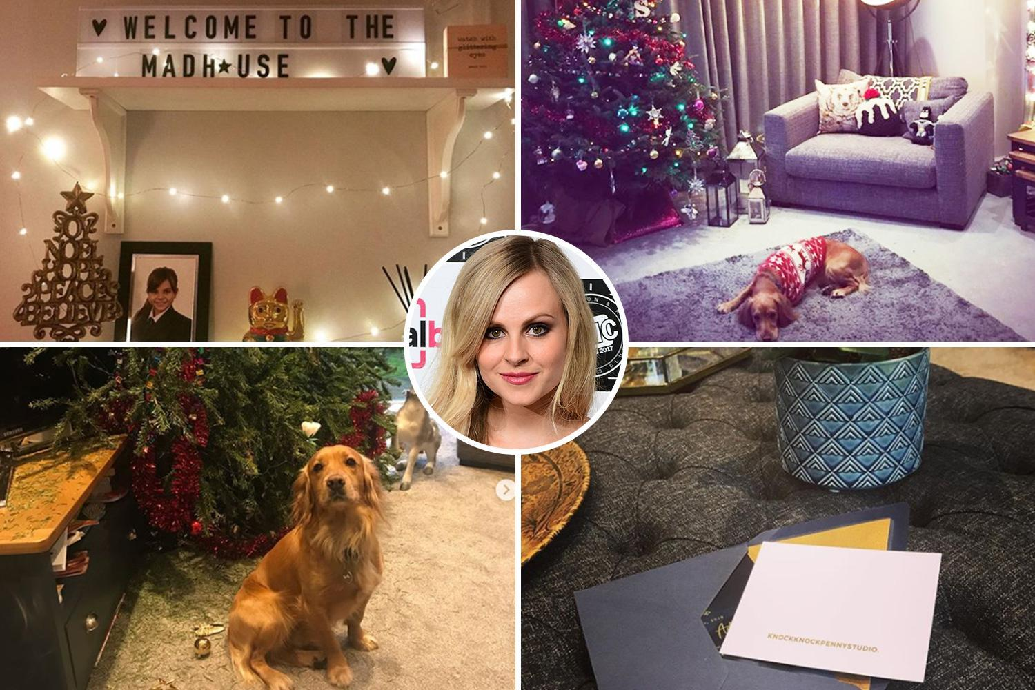 Inside Tina O'Brien's cosy Manchester home after her VERY naughty dog destroys the Christmas tree