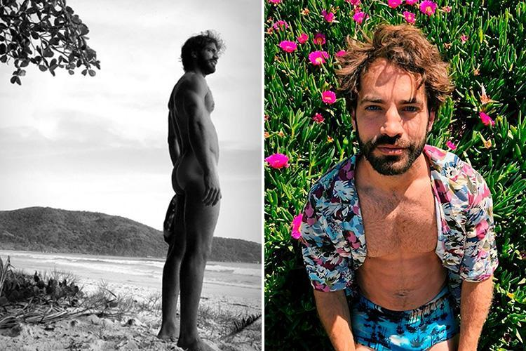 Naked picture of Argentinian actor goes unexpectedly viral with fans baffled over whether it shows his thumb or his penis
