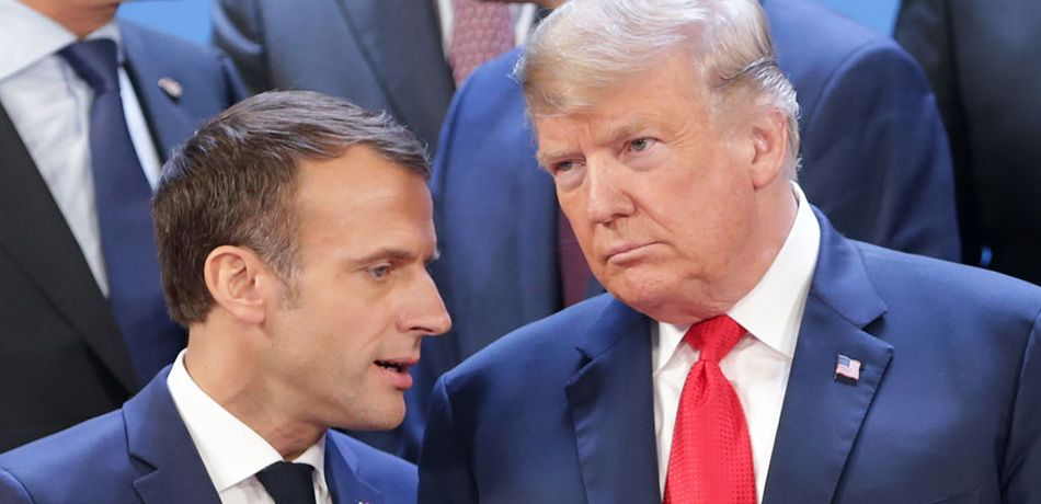 Trump May Have Last Laugh In Macron Feud As Polls Show He Is Twice As Popular As French Leader