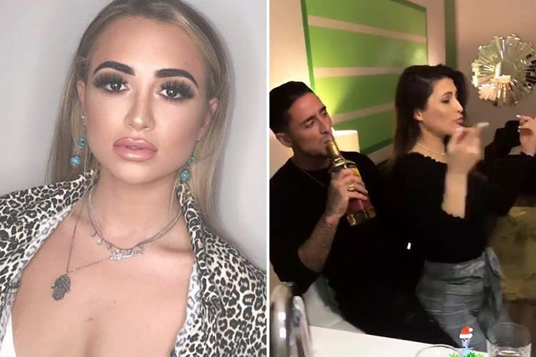 Georgia Harrison hints it's over with cheating Stephen Bear as he posts raunchy videos dancing with other girls