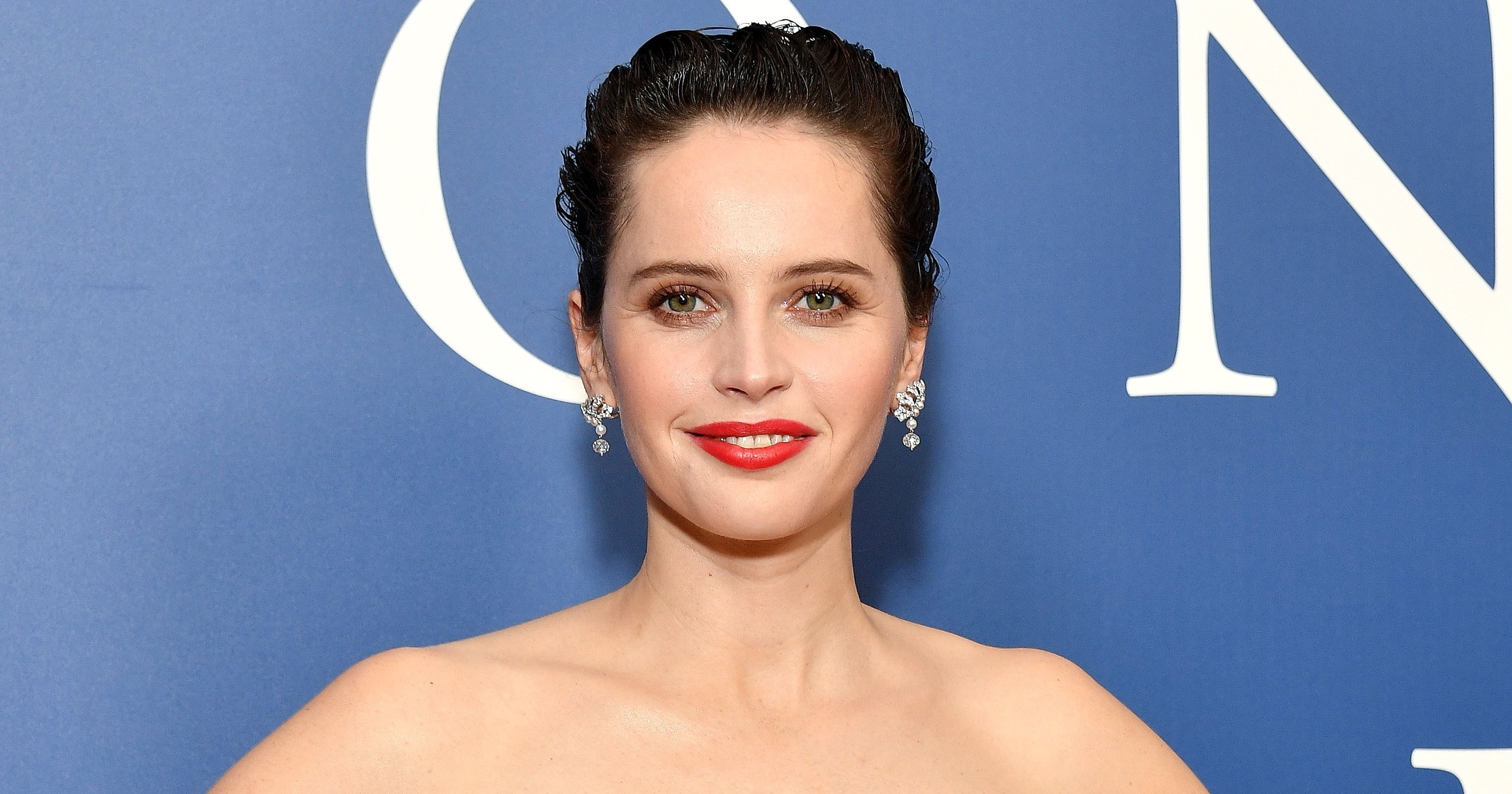 Felicity Jones' 'On the Basis of Sex' Premiere Lipstick Has the Coolest Story