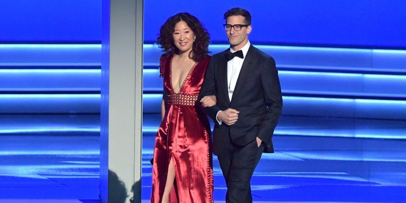 Andy Samberg and Sandra Oh Could Be the Next Tina Fey and Amy Poehler