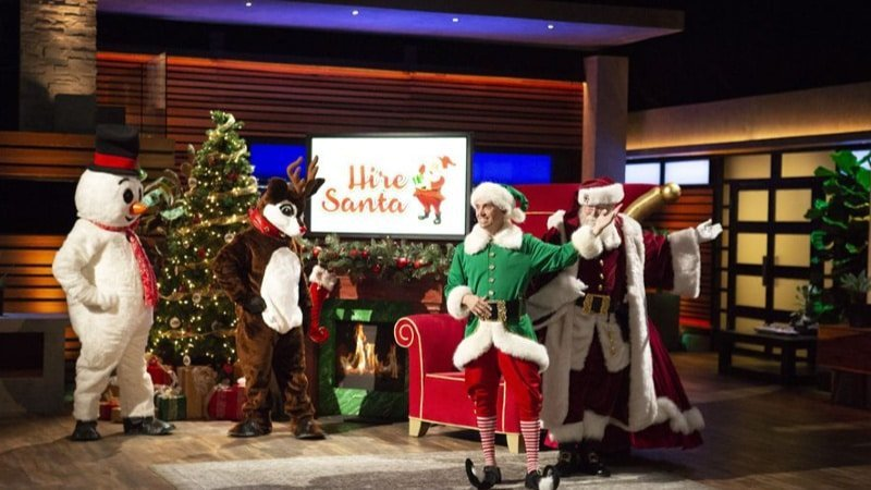 Hire Santa on Shark Tank: Will the sharks invest in a tradition-based service?
