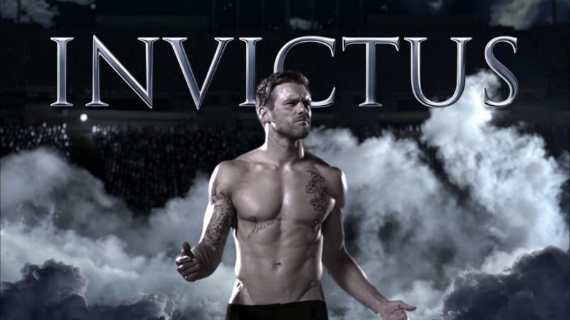 Who is the model in the Invictus commercial?