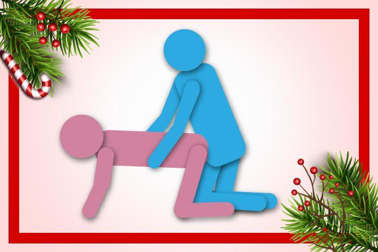 The Reindeer sex position promises some festive thrills on day 11 of our sexy Christmas countdown