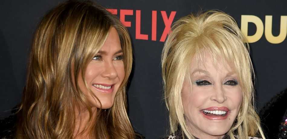 Jennifer Aniston Admits To 'Dying On The Inside' After Befriending Dolly Parton