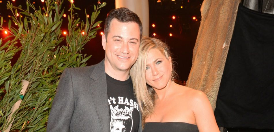 Jennifer Aniston Hilariously Reveals That Jimmy Kimmel's Daughter Pooped In Her Backyard