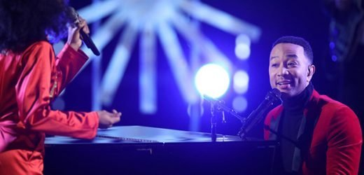 John Legend & Esperanza Spalding Team Up For Gorgeous Holiday Performance On 'The Voice' Finale