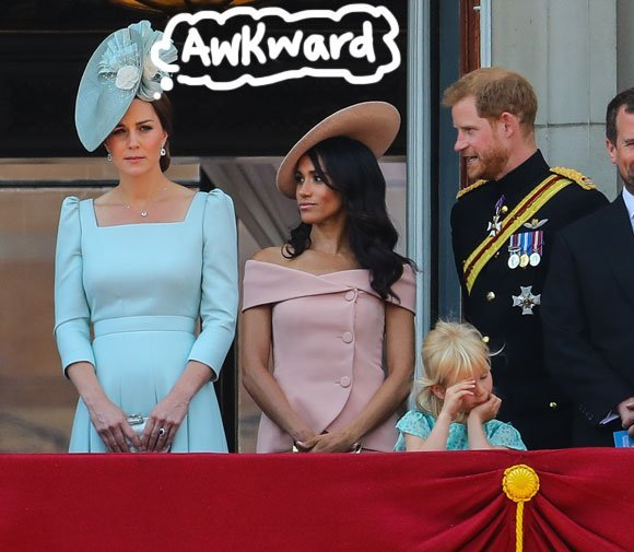 Kensington Palace Comments On Alleged Feud Between Kate Middleton & Meghan Markle!