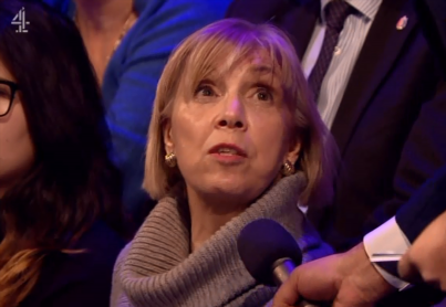 Channel 4 Brexit Debate audience member accuses Theresa May of 'TREASON' and betraying Leave voters