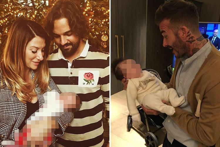 David Beckham's sister Joanne slammed by ex Kris Donnelly 'for not letting him see his baby daughter on her first birthday after five months apart'