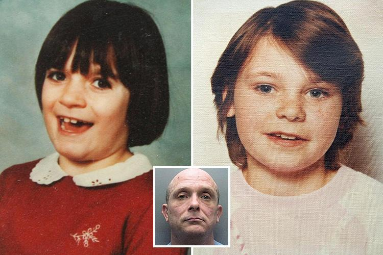Babes in the Wood killer Russell Bishop jailed for life for murdering schoolgirls 32 years ago