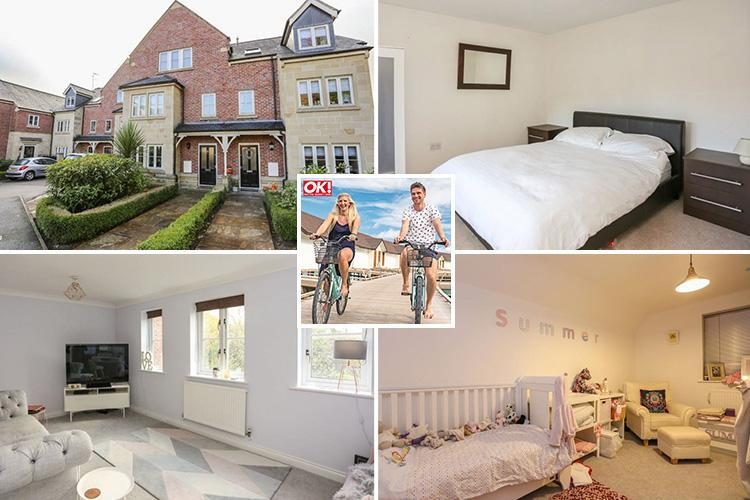 Rebecca Adlington hints she's moved in with new boyfriend Andrew Parsons after putting her stylish house up for rent for £1,400 a month