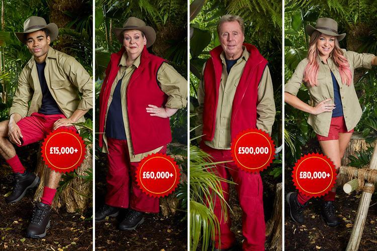 How much do the I'm A Celebrity 2018 stars get paid? Harry Redknapp and Noel Edmonds' massive salaries revealed