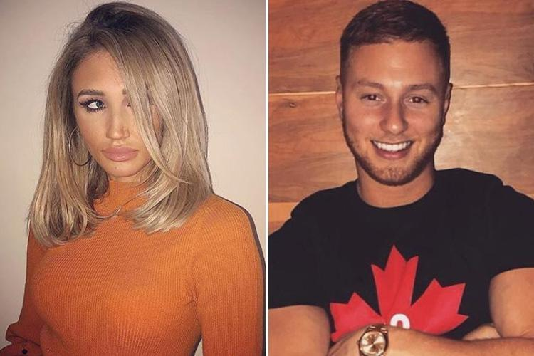 Megan McKenna accused of spending the night with Towie's Adam Oukhellou after the pair party until the early hours