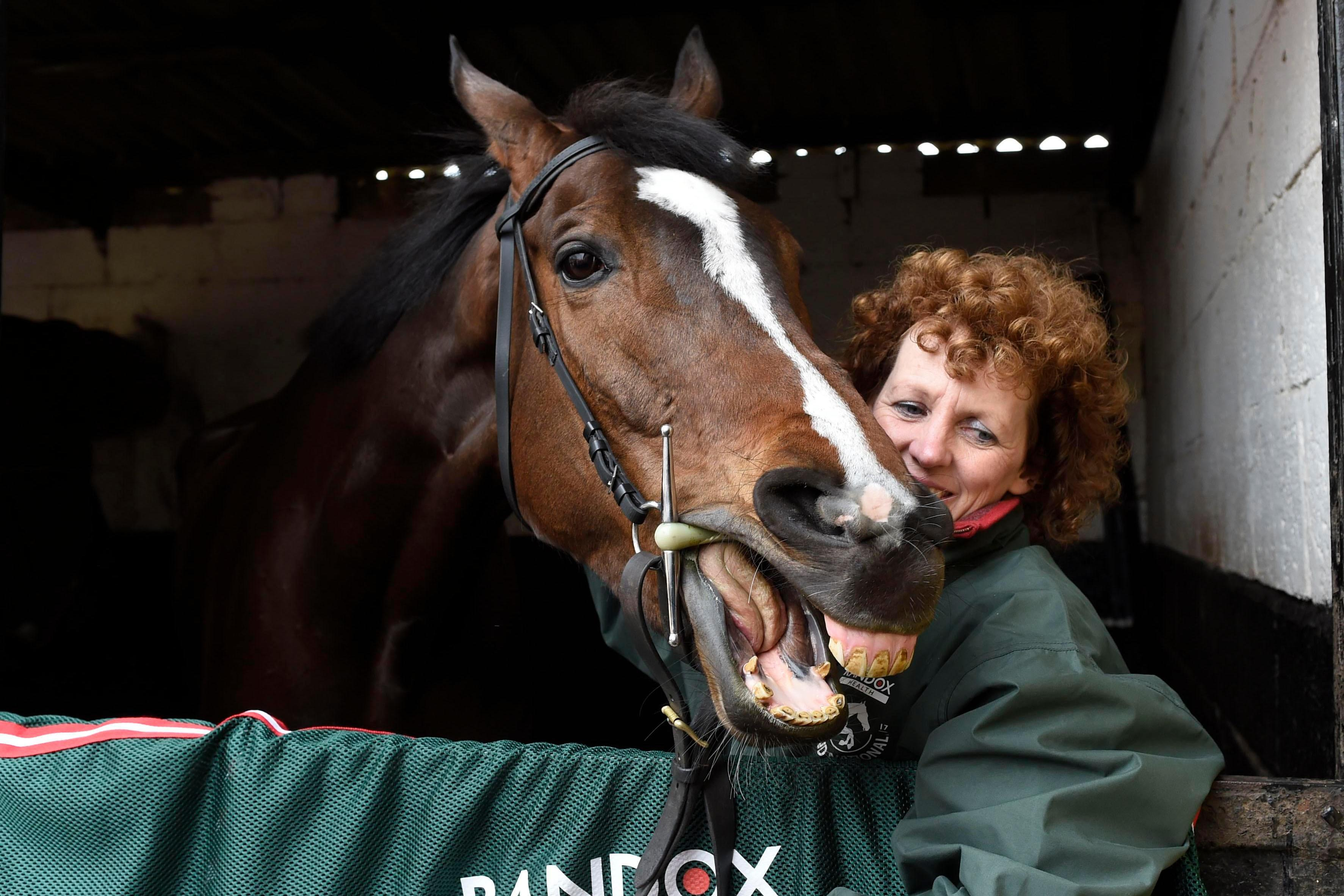Grand National winner One For Arthur as good as ever reports trainer Lucinda Russell ahead of Aintree return