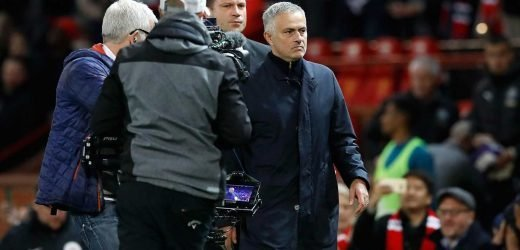 Man Utd's Jose Mourinho in shock GOOD news as he escapes FA charge for 'swearing hand gesture'
