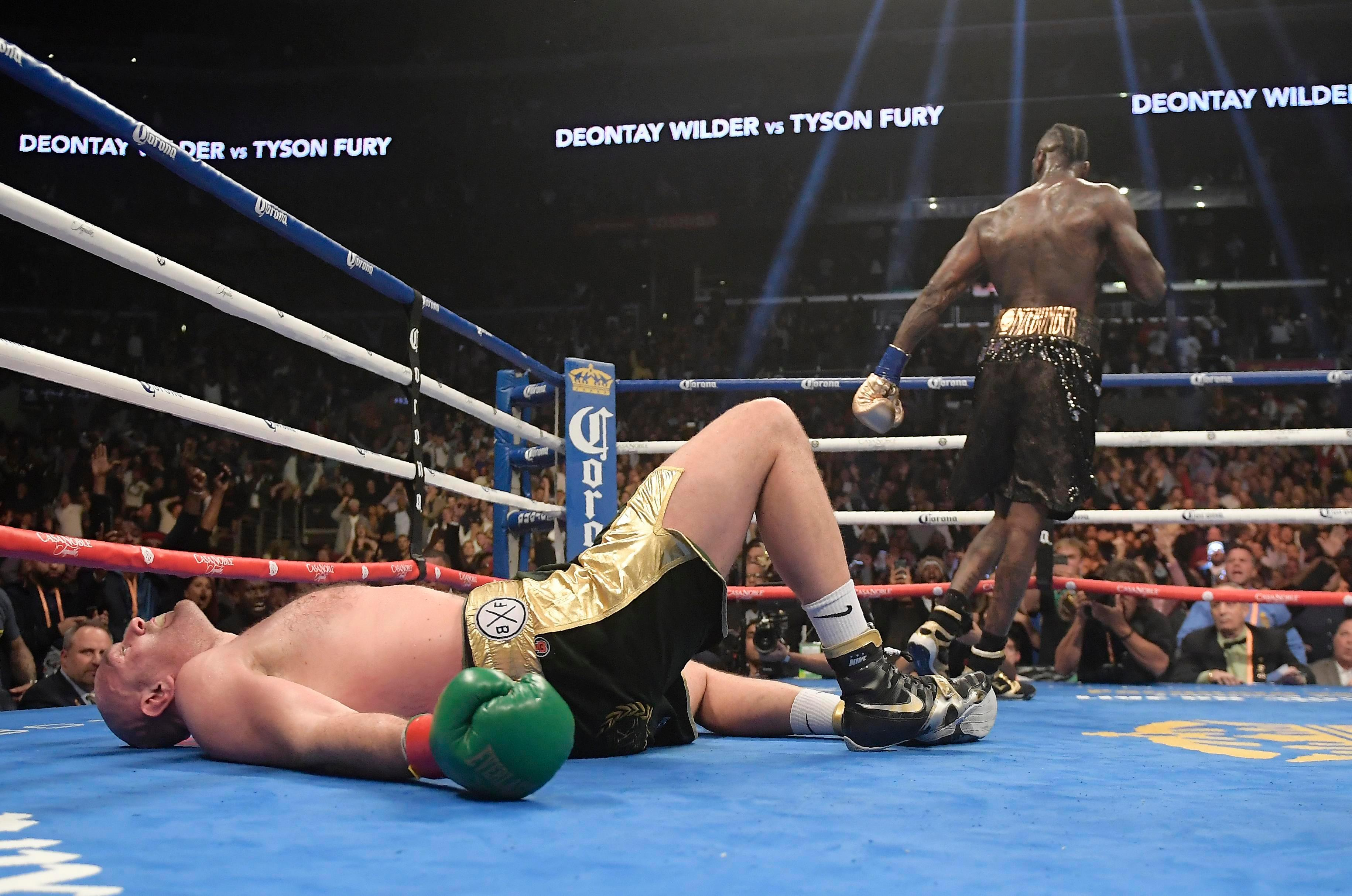 Deontay Wilder reveals 'video proof' Tyson Fury didn't beat 10 count as WBC king seeks incredible trilogy of fights