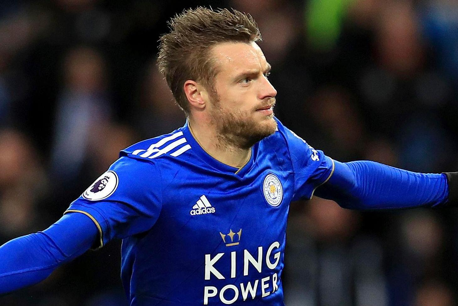 Jamie Vardy fit for Leicester's trip to Crystal Palace after groin issue