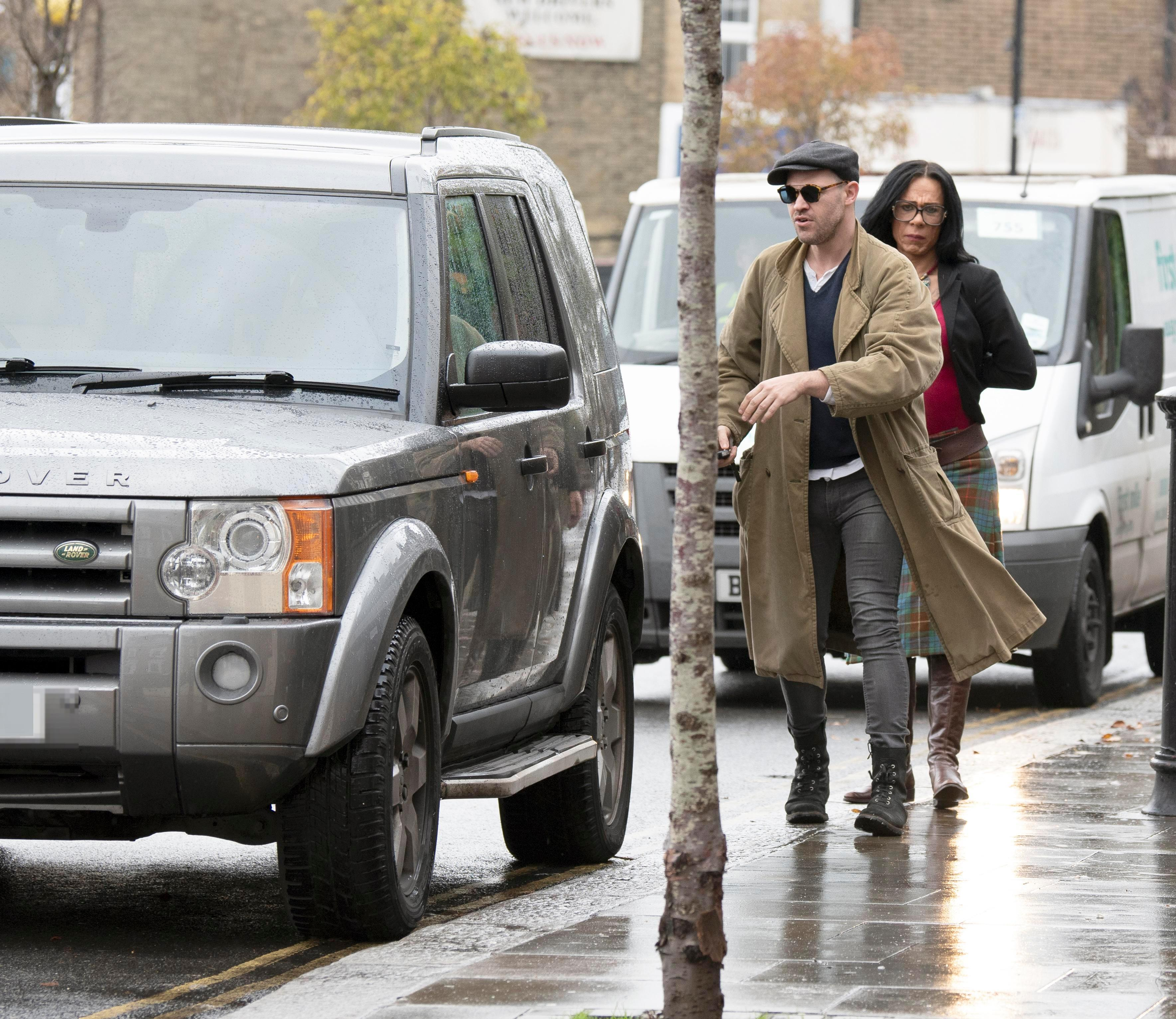 Will Young spotted parking on double yellow lines just days after his driving ban ended