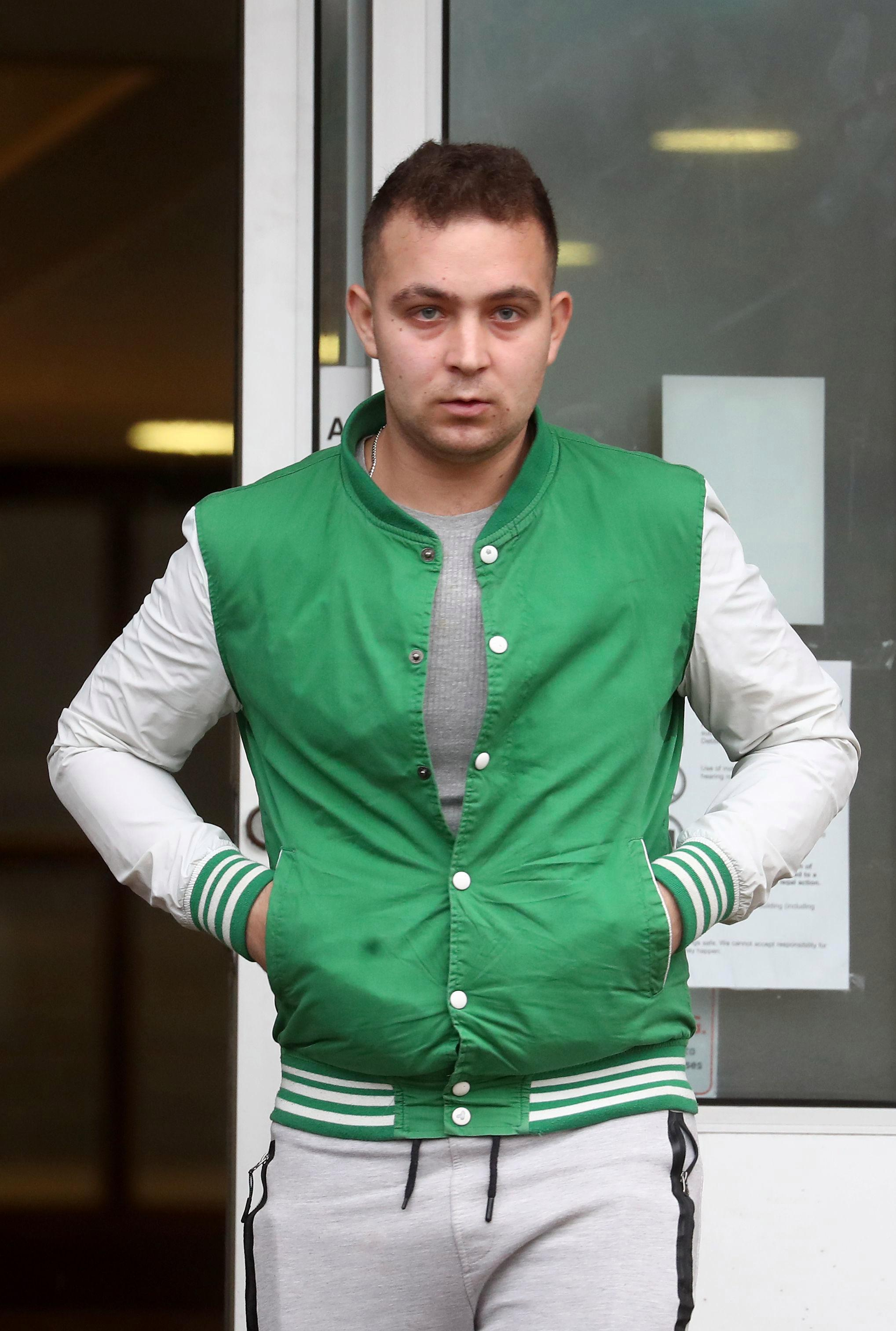 Romanian dishwasher who groped women's bums walks FREE from court 'because he can't speak English'