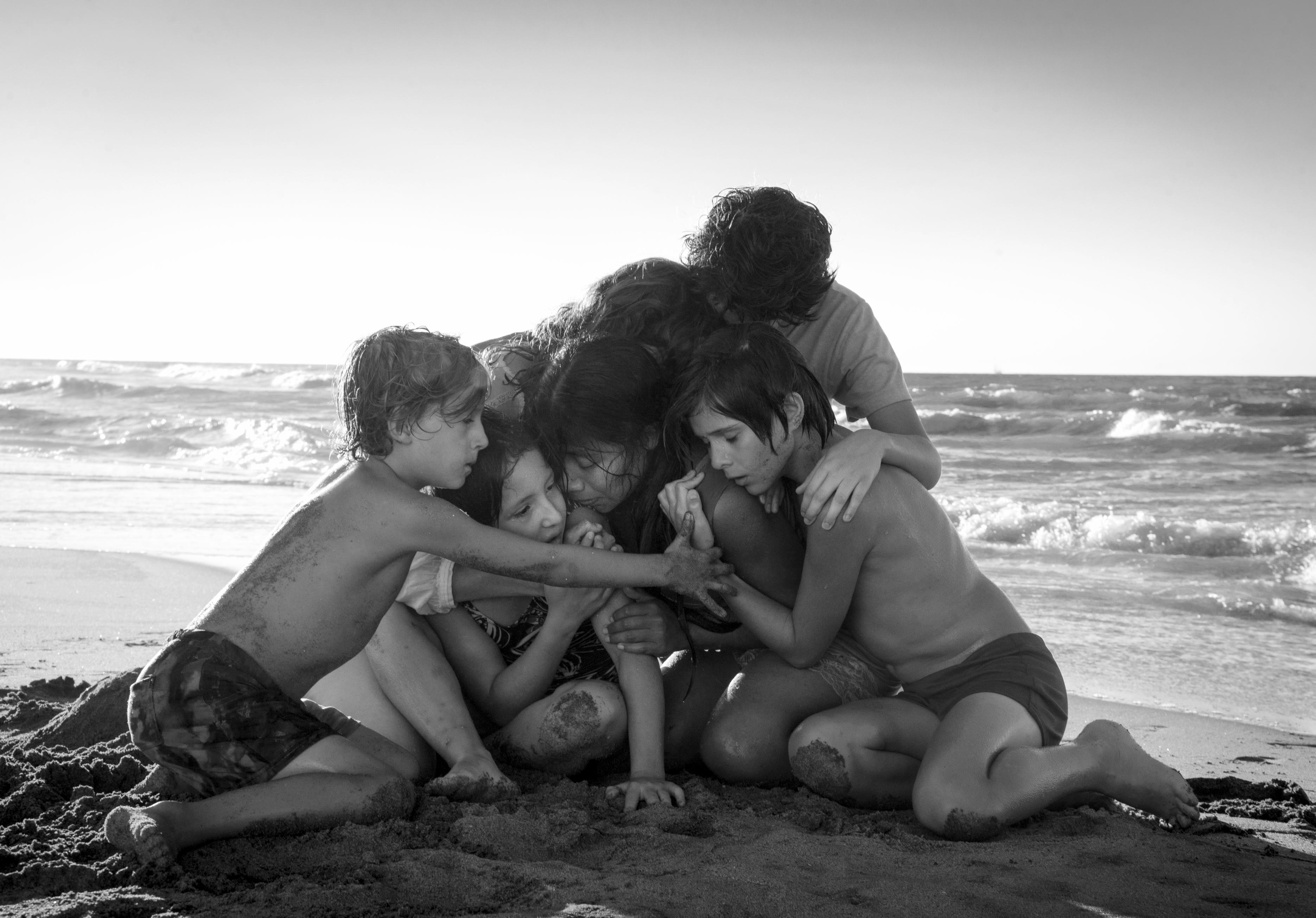 Roma is exquisitely shot and one of the most beautiful films you'll watch