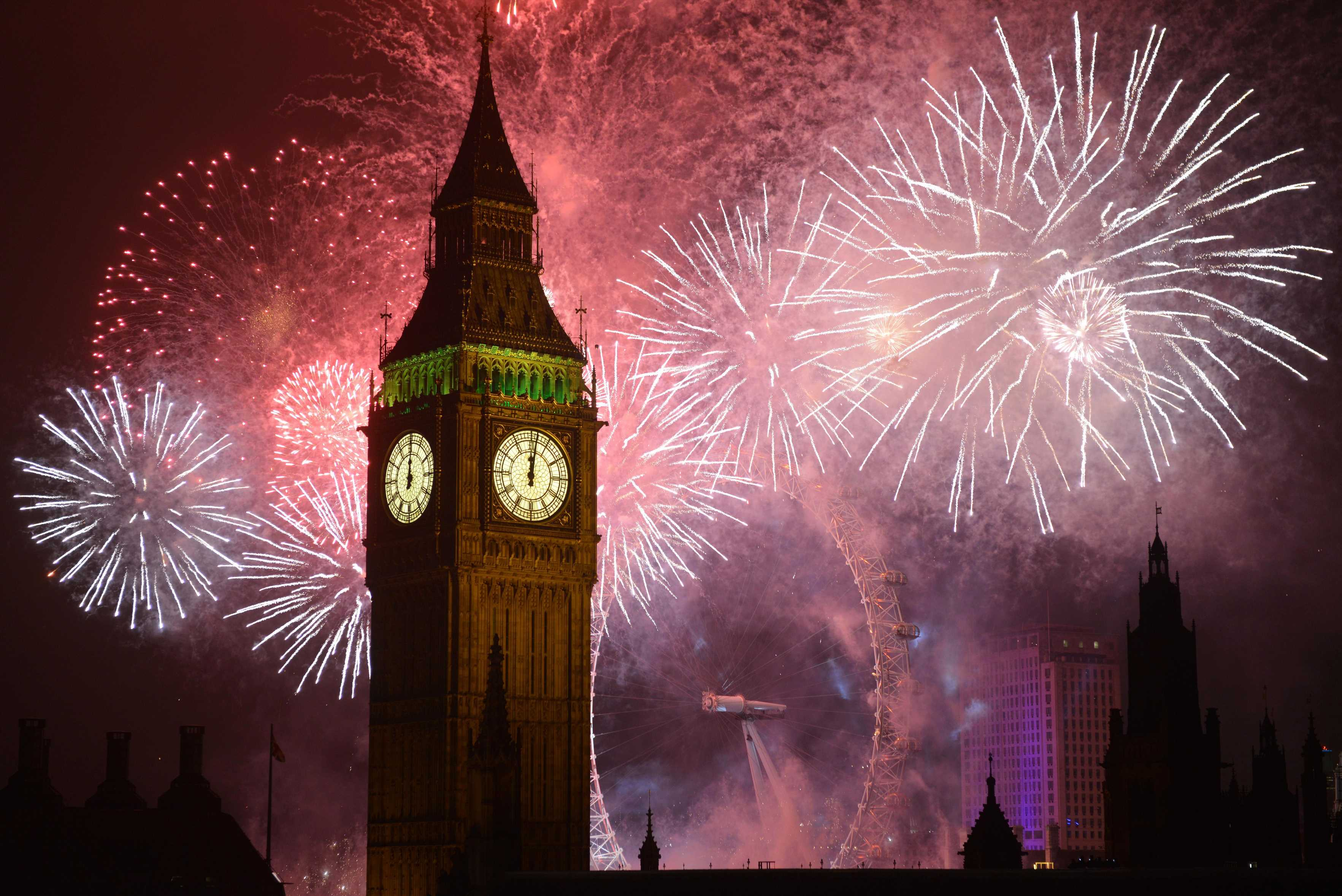Where to watch New Year's Eve fireworks in London and where are the best views?
