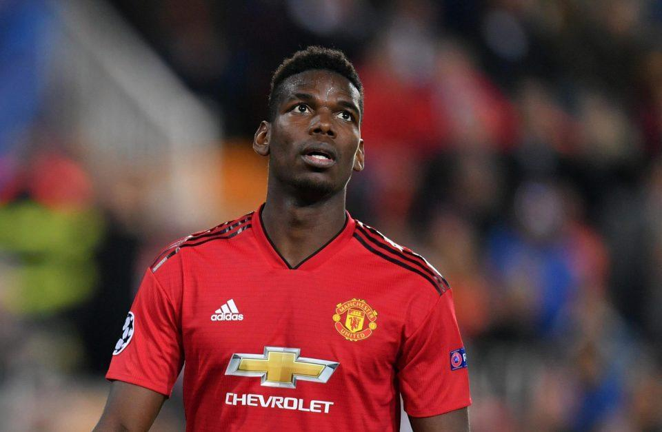 Paul Pogba left on bench for Manchester United's crunch clash with Liverpool