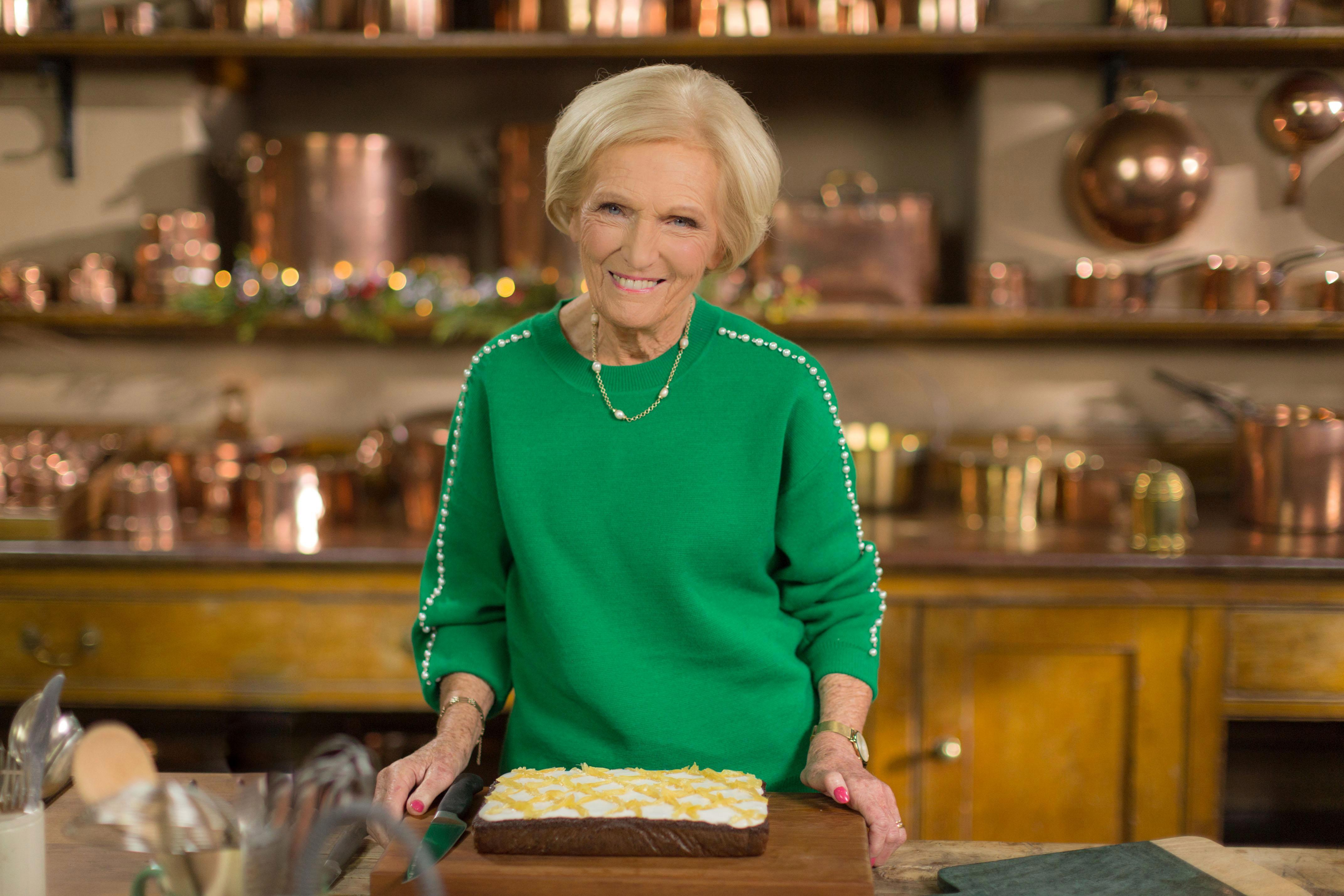What time is Mary Berry's Country House at Christmas on TV and what festive dishes could she be cooking?