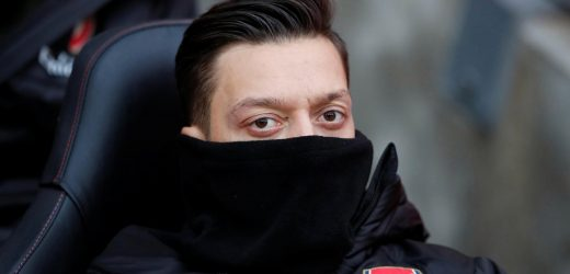 Arsenal news: Mesut Ozil is 5/1 to leave the Emirates in January