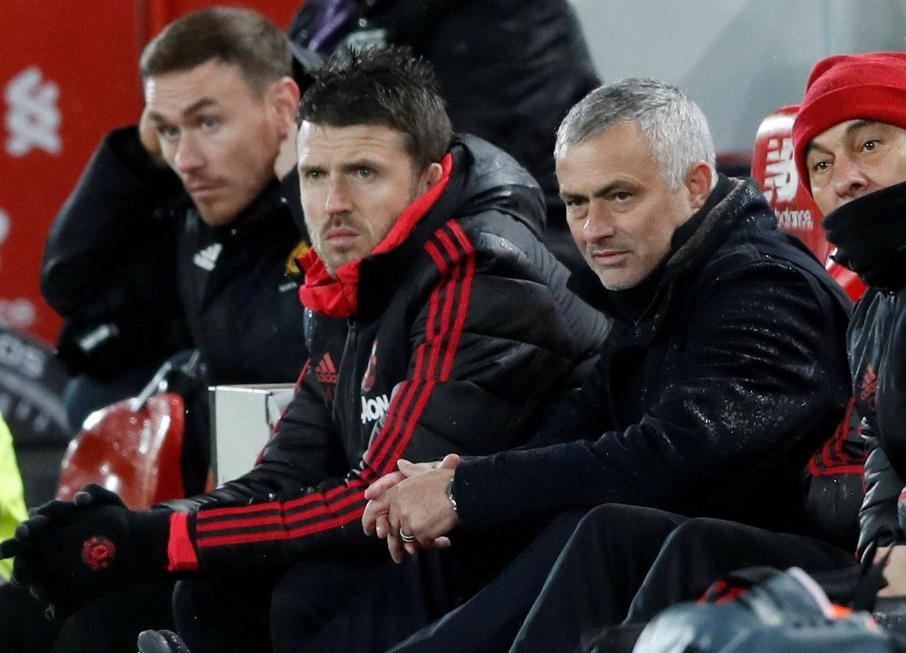 How old is Michael Carrick, is he the new Man Utd manager and who did England midfielder play for?