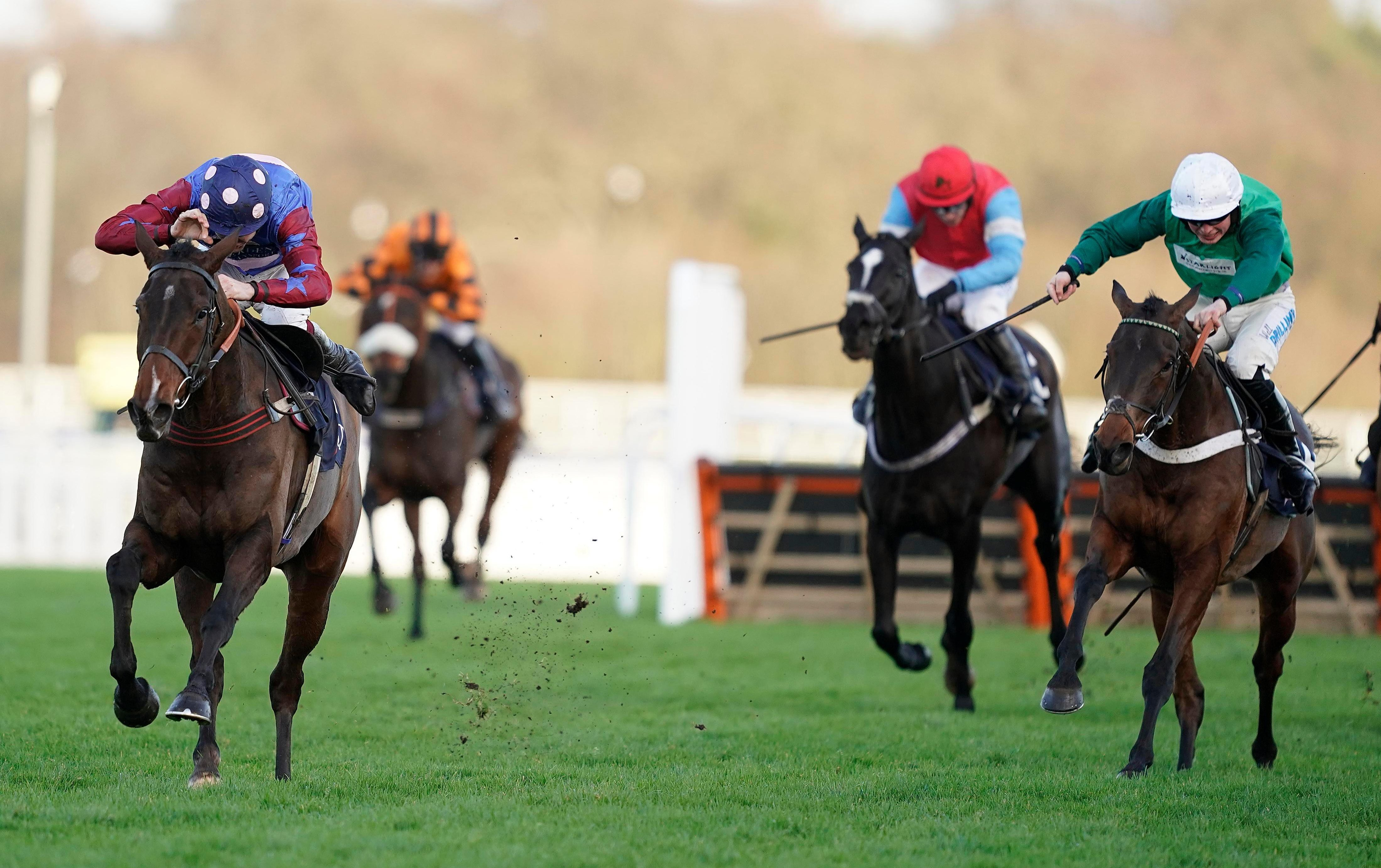 Long Walk Hurdle: Paisley Park grabs Grade 1 glory for Emma Lavelle in dramatic race at Ascot
