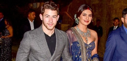 Nick and Priyanka Look So in Love at Mumbai Wedding Reception: Pics