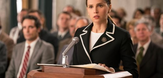 'On the Basis of Sex' does not do Ruth Bader Ginsburg justice
