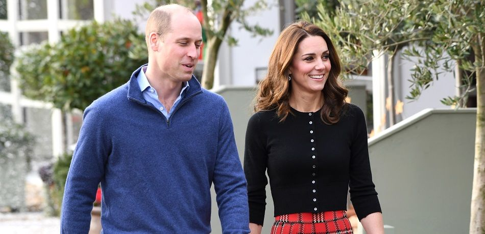 Prince William & Kate Middleton Host Christmas Party For Military Families At Kensington Palace