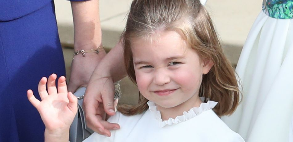 Princess Charlotte Proves That When A Girl Has Got To Go…
