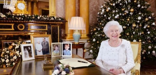 Queen Elizabeth Leaves Buckingham Palace For A Train Ride To Her Christmas Estate