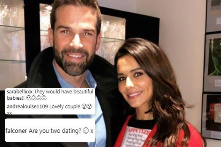 Cheryl and Gethin Jones spark romance rumours as fans go wild for 'hot couple' under his photo with her on Instagram