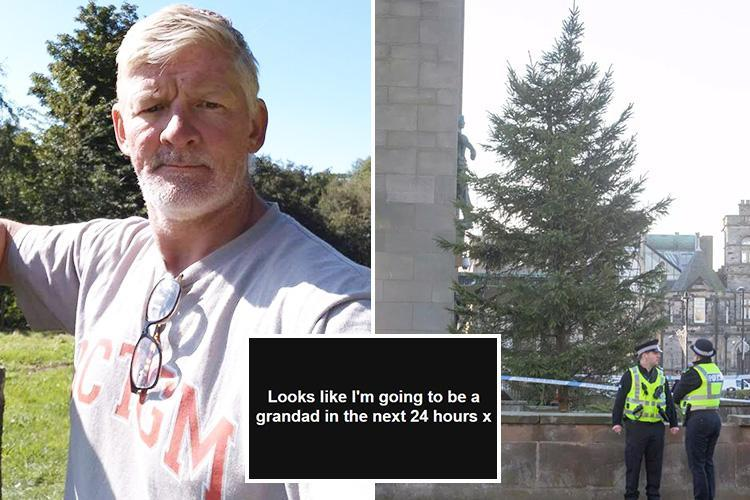 Tragic last Facebook post of grandad who died after fall from 12ft Christmas tree revealed he was about to welcome another grandchild