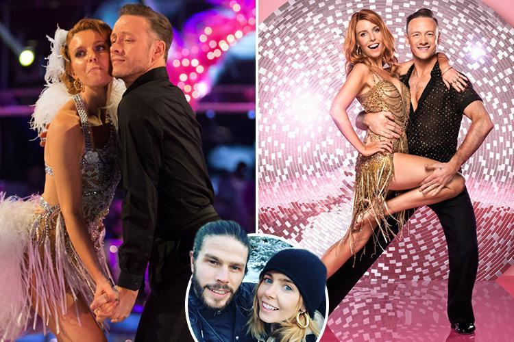 Stacey Dooley's boyfriend is 'insanely jealous' of her relationship with dance partner Kevin Clifton and fears Strictly curse