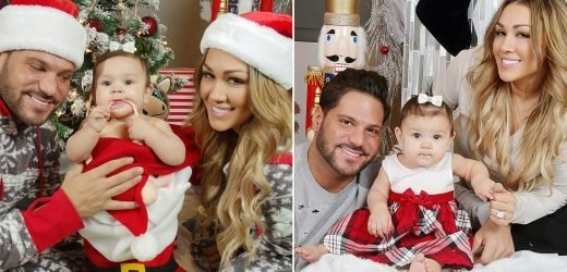 Ronnie Ortiz-Margo and Jen Harley Pose for Family Christmas Photos With Daughter