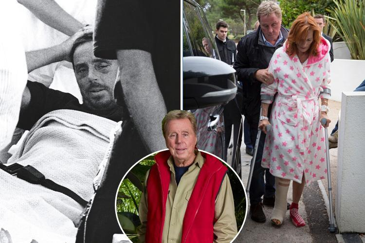 """How Harry Redknapp overcame horror crash that killed four, running over his wife and """"devastation"""" over Jamie and Louise break-up to be I'm a Celeb favourite"""