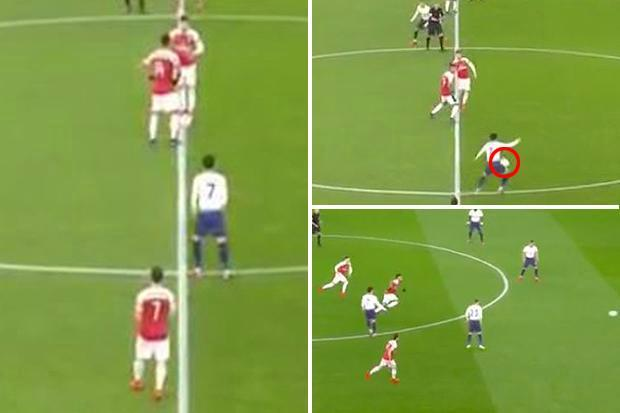 Ramsey and Aubameyang accused of worst kick-off ever in Arsenal loss to Spurs