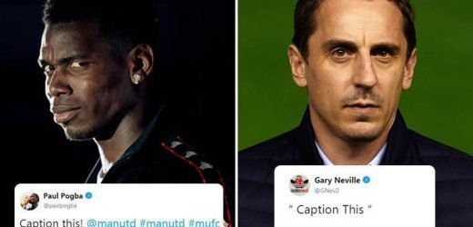 Gary Neville calls for Paul Pogba to 'do one as well' after cryptic Jose Mourinho dig following his Man Utd sacking