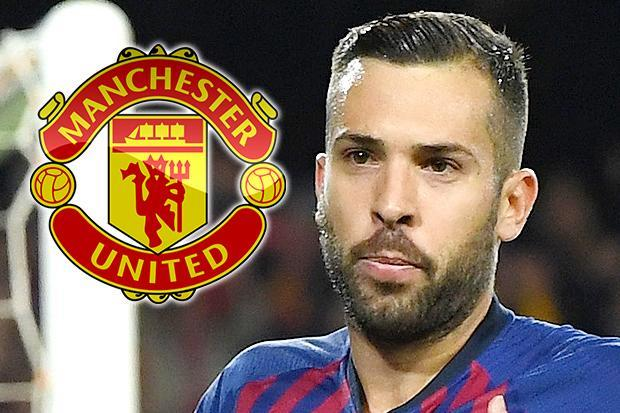 Man Utd target Jordi Alba 'very far away' from new Barcelona deal and can talk to clubs in January