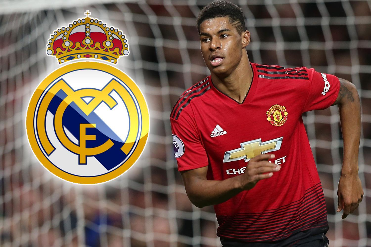 Marcus Rashford will reject Real Madrid in favour of Manchester United stay